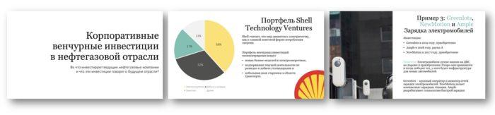 Венчурные инвестиции нефтегазовых компаний презентация
